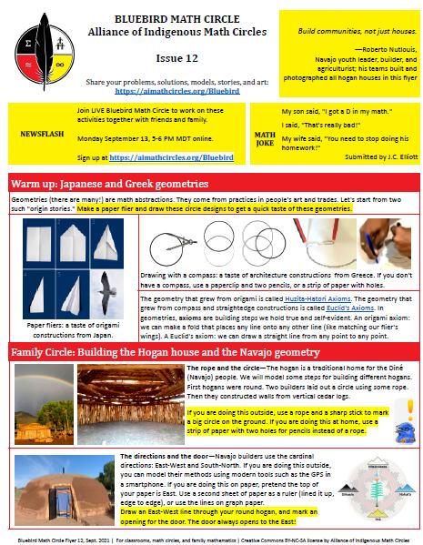 Bluebird Flyer Issue 12―Hogan House Axioms