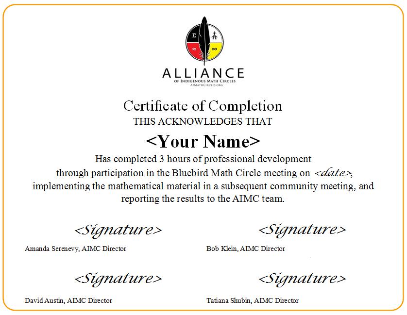 PD Certificate